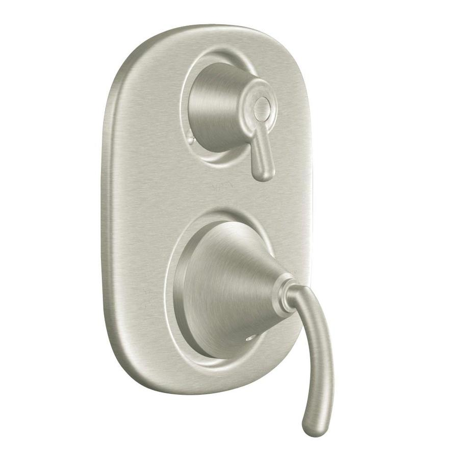 Moen Icon Brushed Nickel 1-Handle Vertical Shower System Trim Kit