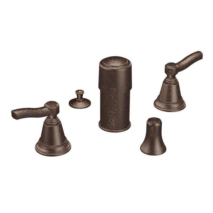 Moen Rothbury Oil-Rubbed Bronze Vertical Spray Bidet Faucet Trim Kit
