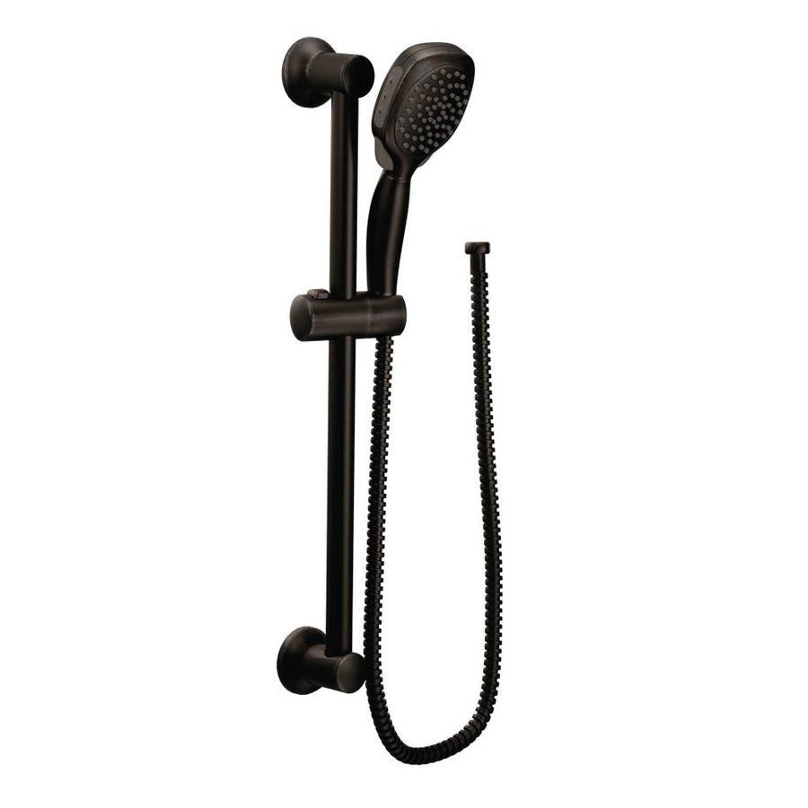 Moen Twist 4.375-in 2.0-GPM (7.6-LPM) Oil-Rubbed Bronze 4-Spray WaterSense Hand Shower