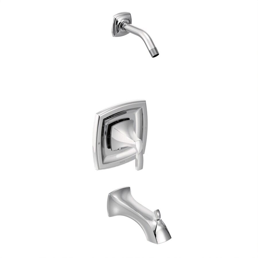 Moen Voss Chrome 1-Handle Bathtub and Shower Faucet