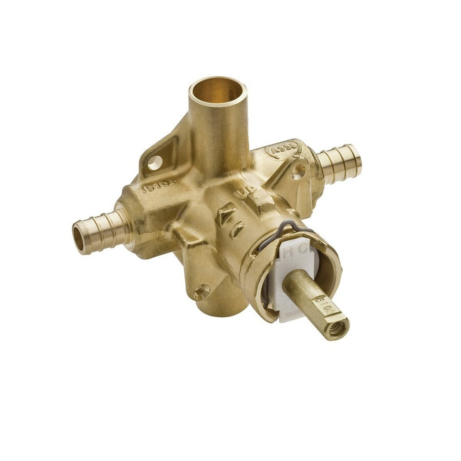 Shop Moen 1 2 In Brass Pex In Line Rough In Valve At Lowes Com