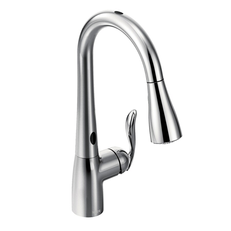 shop moen arbor with motionsense chrome 1 handle pull down