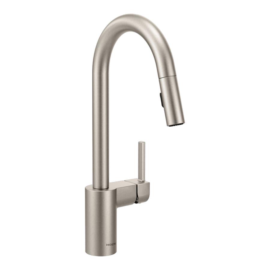 Moen Align Spot Resist Stainless 1-Handle Pull-Down Kitchen Faucet