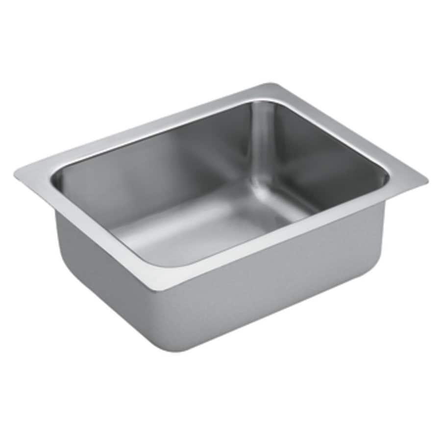 ... Series Single-Basin Stainless Steel Undermount Residential Prep Sink
