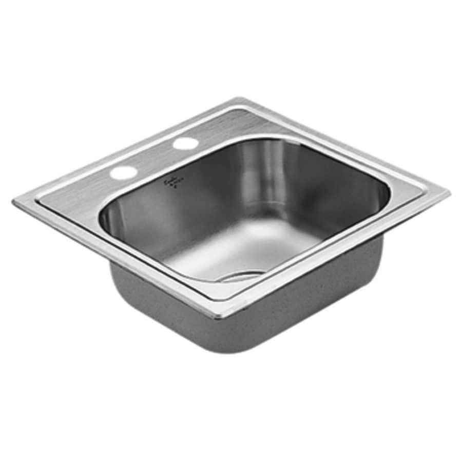 ... 2200 Series Stainless Steel Drop-in Residential Prep Sink at Lowes.com
