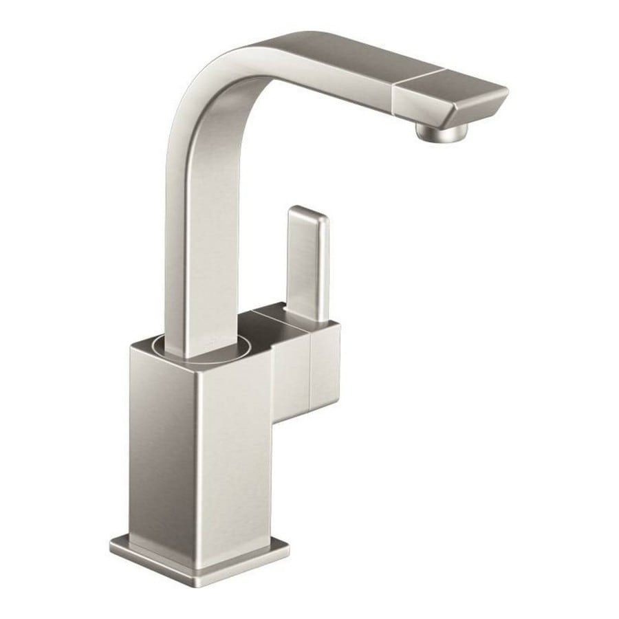 Moen 90 Degree Spot Resist Stainless 1-Handle Bar and Prep Faucet