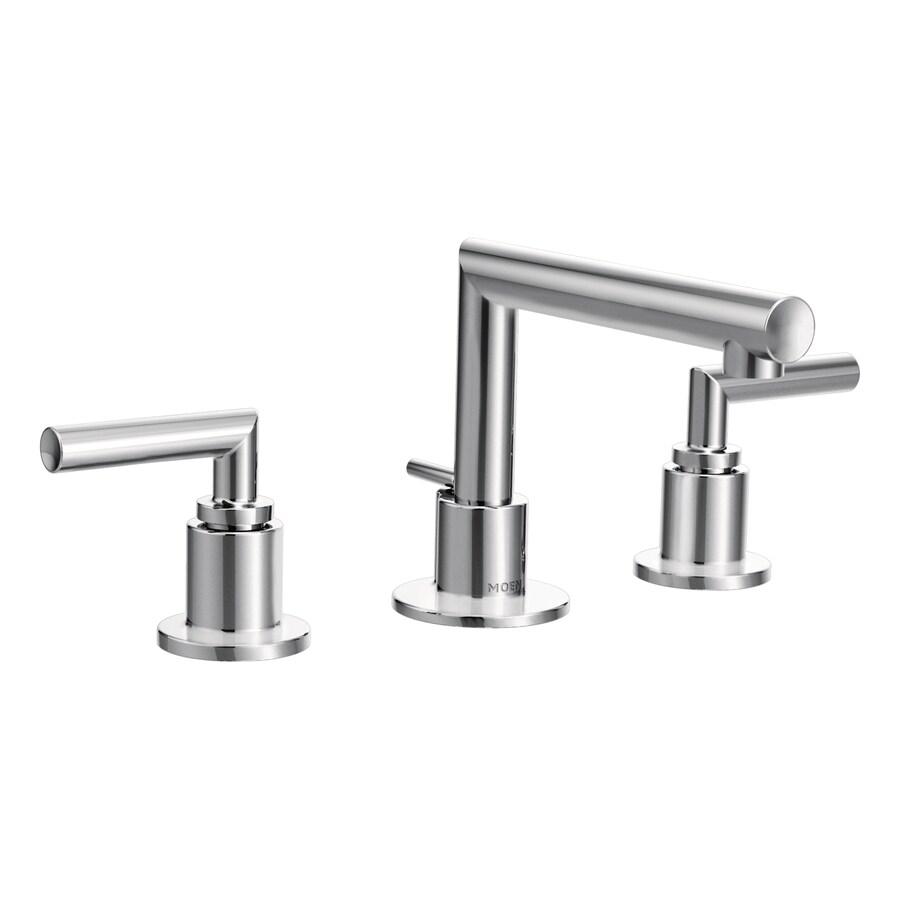 Moen Arris Chrome 2-Handle Widespread WaterSense Bathroom Faucet
