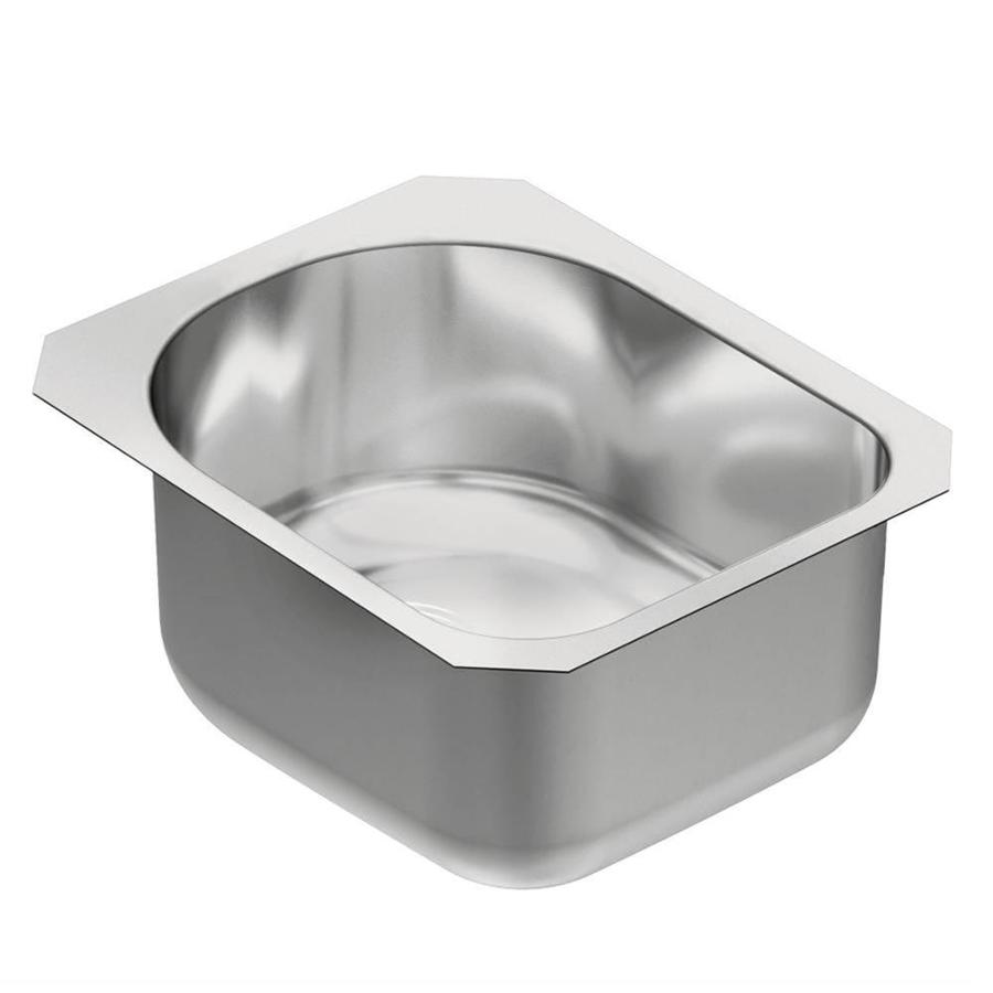 Shop Moen 1800 Series Stainless Steel Undermount Residential Bar Sink At