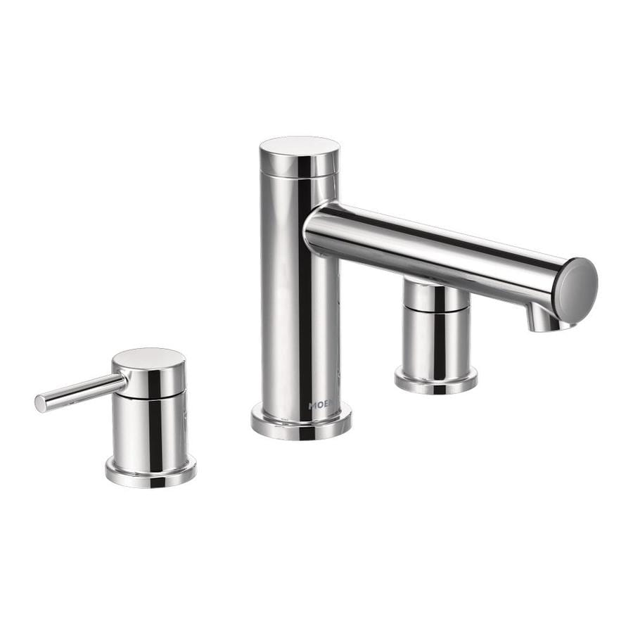 Shop Moen Align Chrome 2 Handle Bathtub And Shower Faucet At