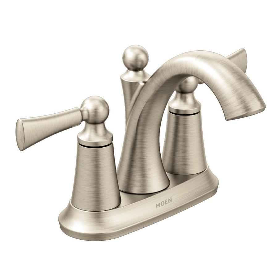 Moen Wynford Polished Nickel Single Towel Bar (Common: 24-in; Actual: 26.26-in)