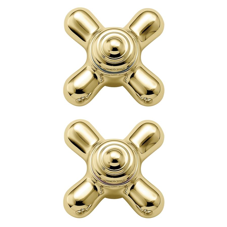 Shop moen 2 pack brass faucet or bathtub shower handles at Replacement shower handles