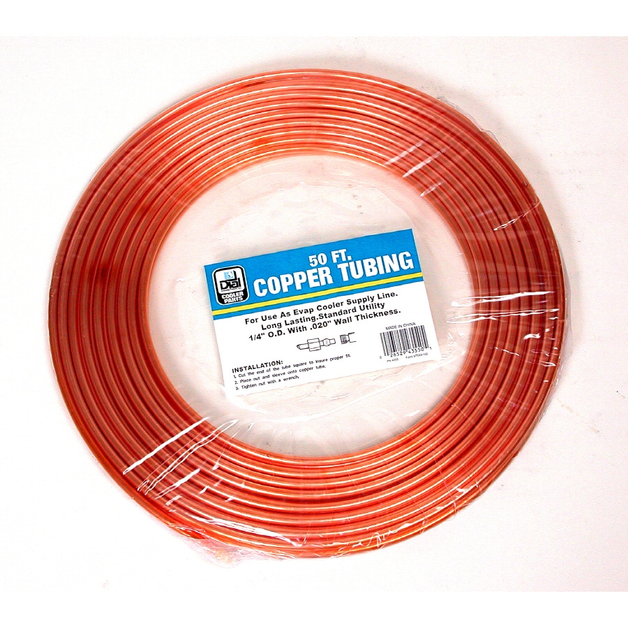"Dial 1/4"" x 50 ft Copper Tube"