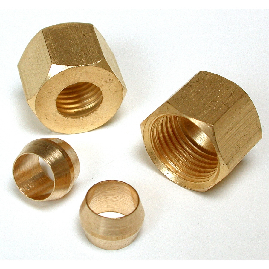 Dial Brass Evaporative Cooler Compression Sleeve and Nut
