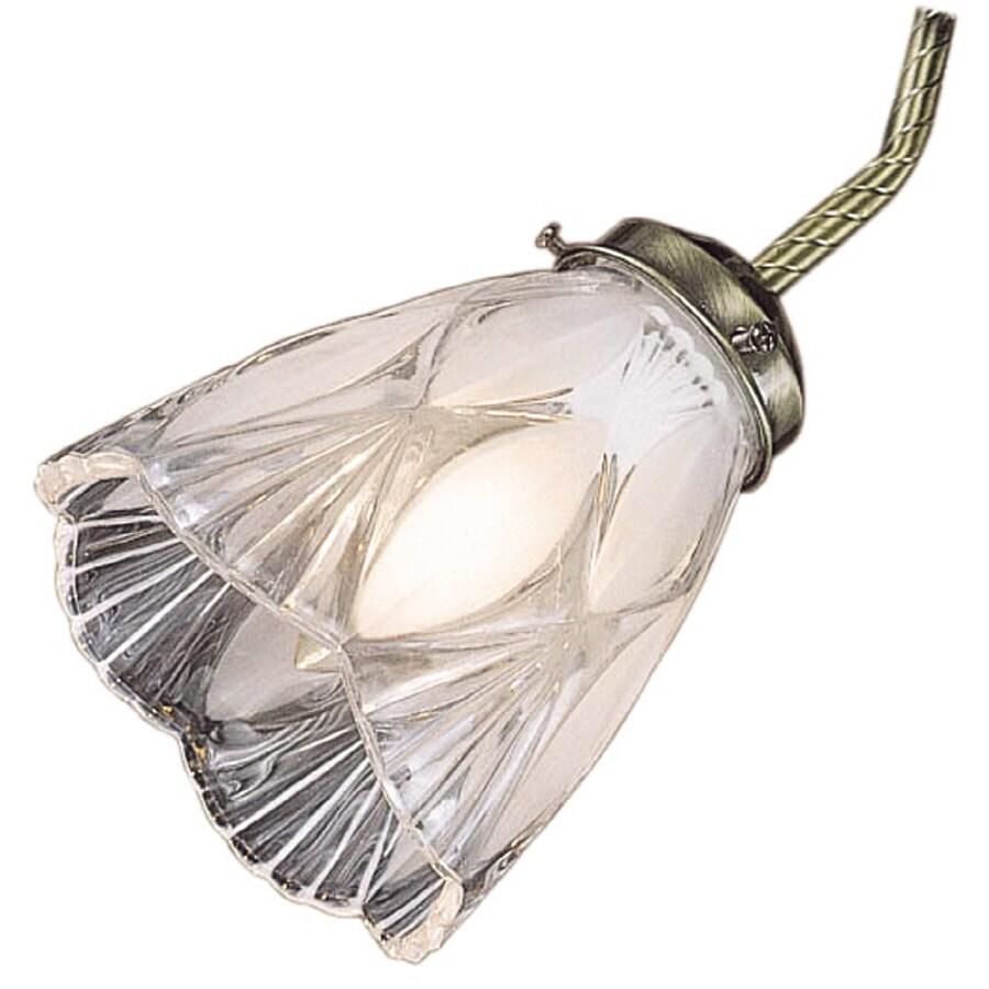 Monte Carlo Fan Company Frosted/Clear Crystal Ceiling Fan Light Kit