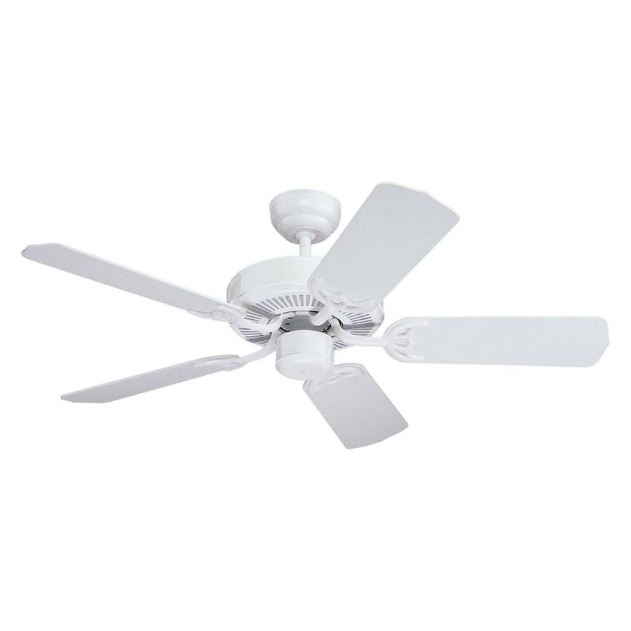 Monte Carlo Fan Company Homeowner's Select II 42-in White Multi-Position Ceiling Fan