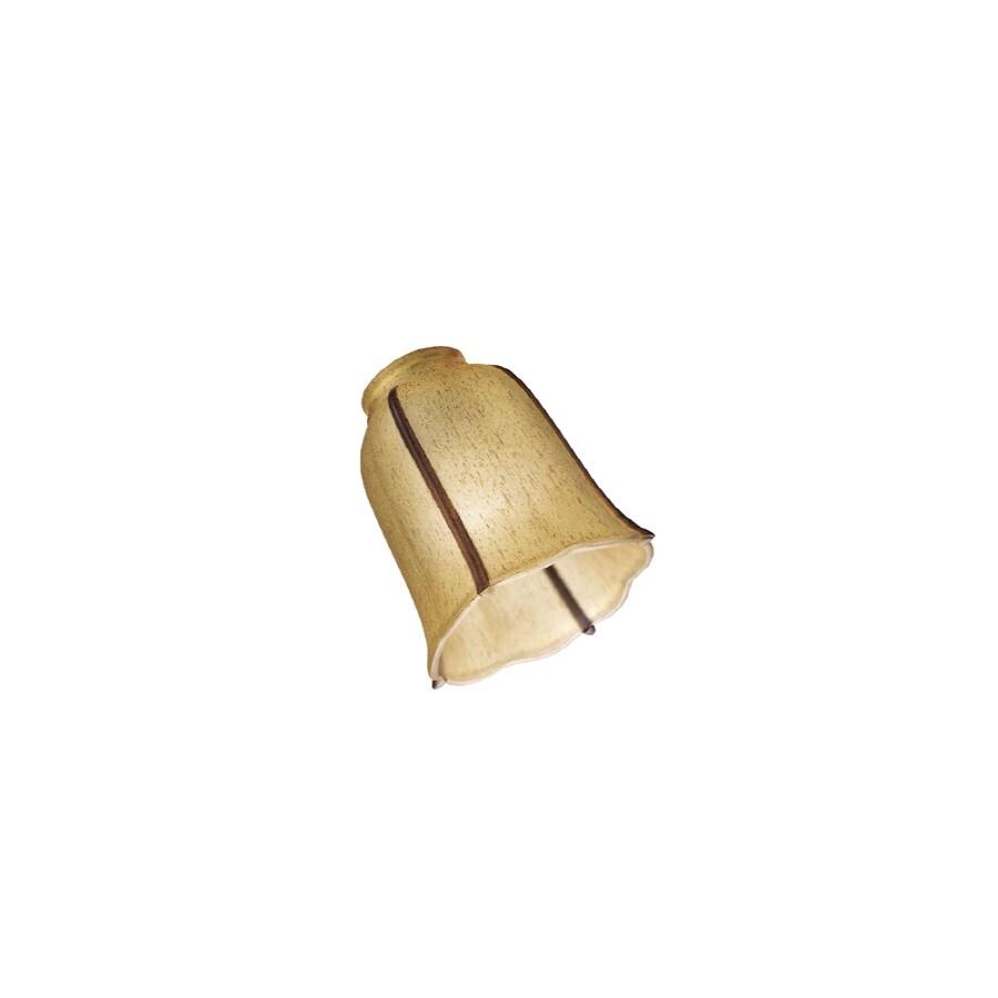 Monte Carlo Fan Company Mission Amber Ceiling Fan Light Kit