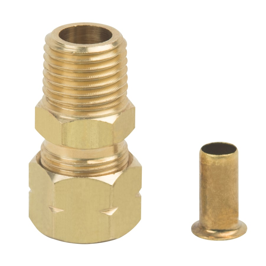 BrassCraft 3/8-in x 1/4-in Compression Compression x MIP Adapter Adapter Fitting