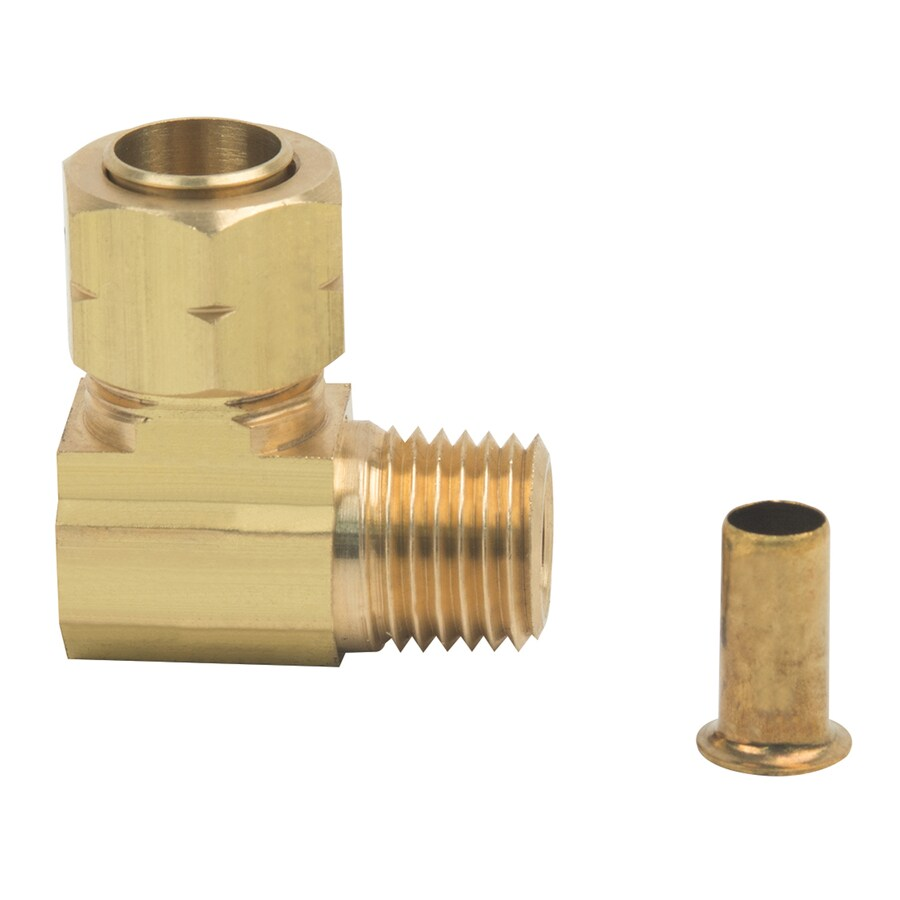 BrassCraft 3/8-in x 1/4-in Compression Compression x MIP Adapter Elbow Fitting