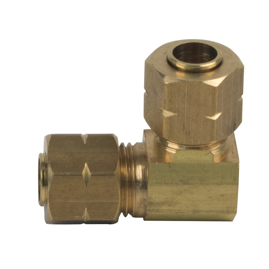 BrassCraft 1/4-in x 1/4-in Compression Compression Coupling Elbow Fitting