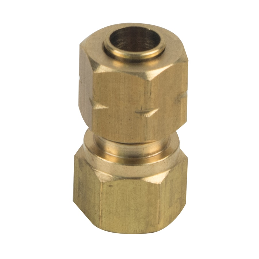 BrassCraft 1/4-in x 1/8-in Compression Compression x FIP Adapter Adapter Fitting