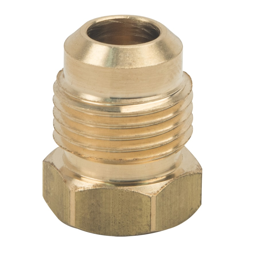 BrassCraft 3/8-in Threaded Adapter Plug Fitting