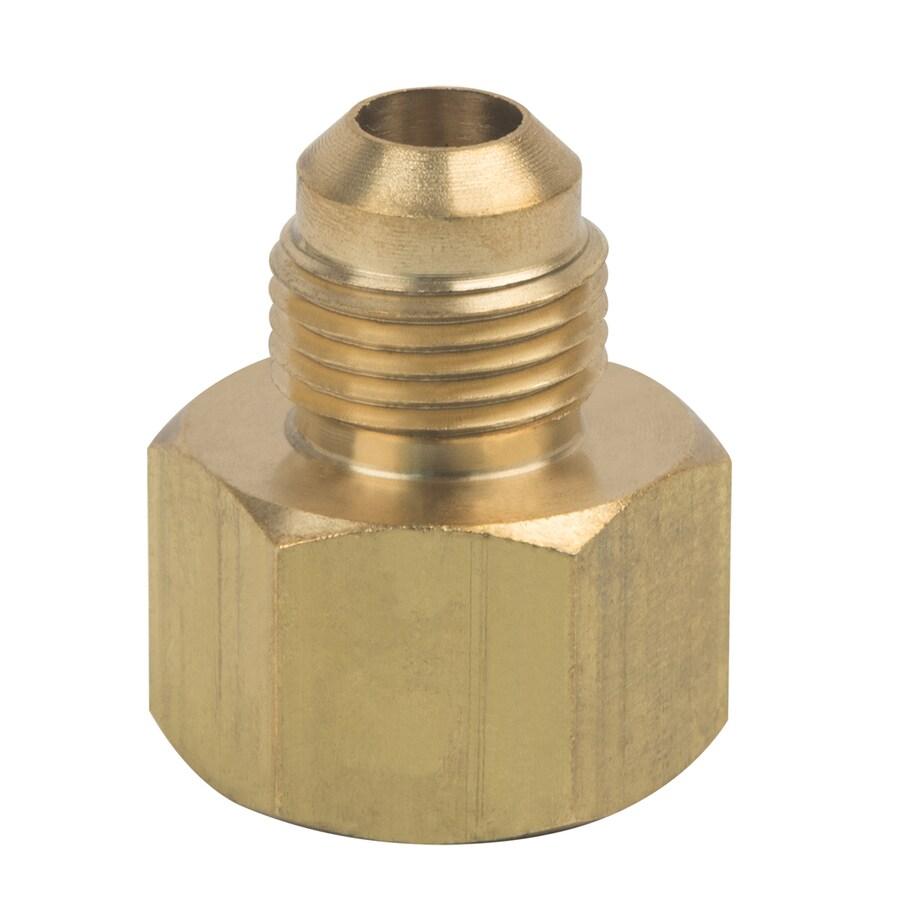 BrassCraft 3/8-in x 1/2-in Threaded Adapter Adapter Fitting