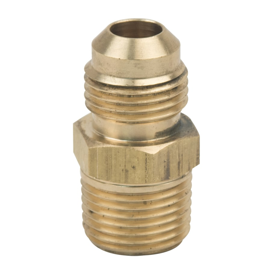 BrassCraft 3/8-in x 3/8-in Threaded Flare x MIP Adapter Adapter Fitting