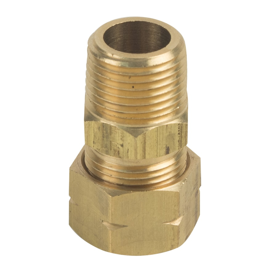 BrassCraft 1/2-in x 3/8-in Compression Compression x MIP Adapter Adapter Fitting