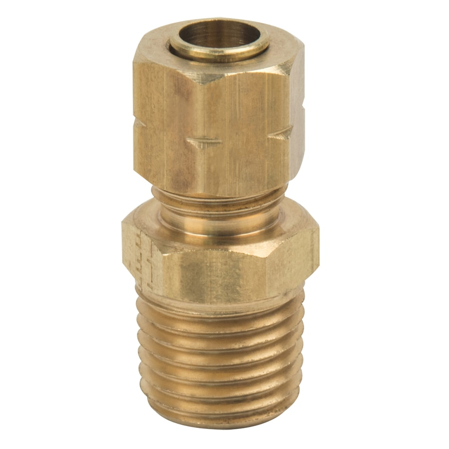 BrassCraft 1/4-in x 1/4-in Compression Compression x MIP Adapter Adapter Fitting