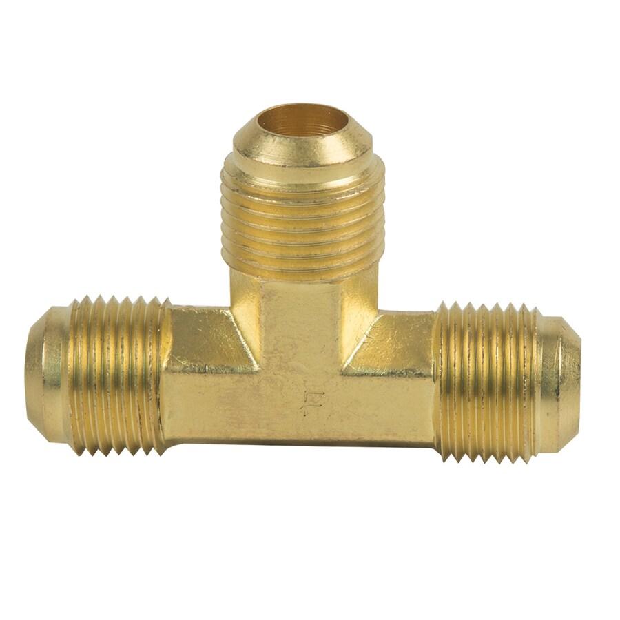 BrassCraft 1/2-in x 1/2-in x 1/2-in Threaded Tee Union Fitting