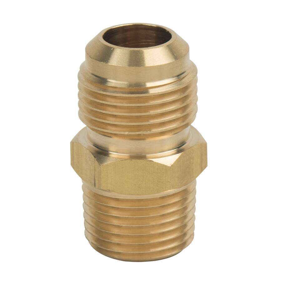 BrassCraft 5/8-in x 1/2-in Threaded Flare x MIP Adapter Adapter Fitting