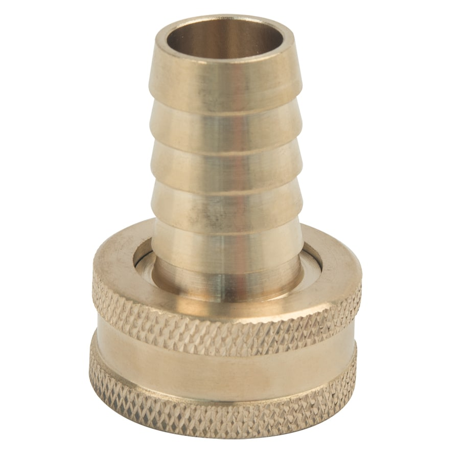 BrassCraft 5/8-in x 3/4-in Barbed Barb x Garden Hose Adapter Fitting
