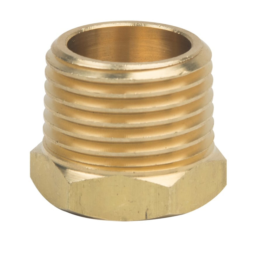 BrassCraft 1/2-in x 1/4-in Threaded Adapter Bushing Fitting