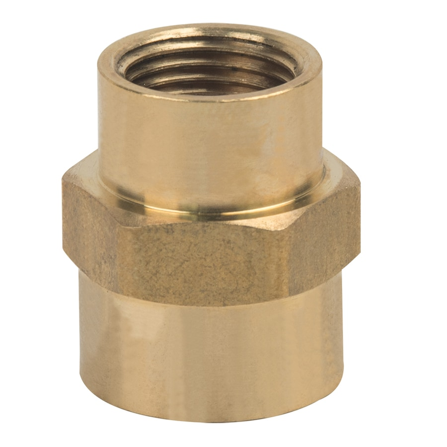 BrassCraft 1/2-in x 3/8-in Threaded Reducing Union Coupling Fitting