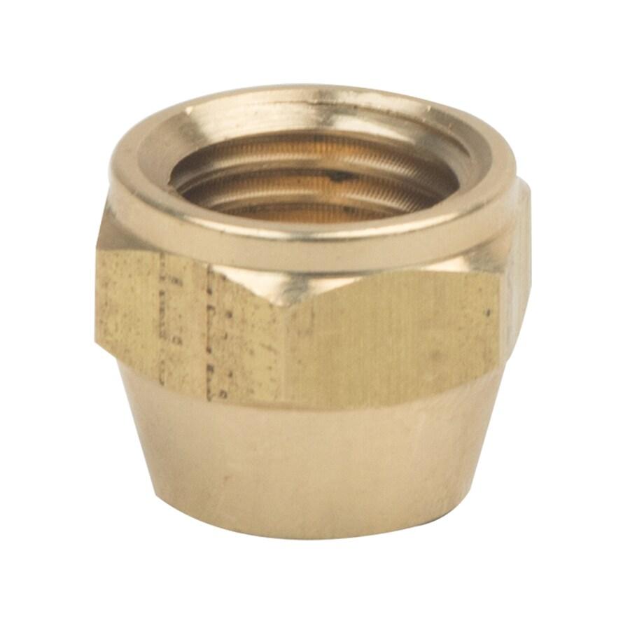 BrassCraft 1/4-in Threaded Cap Fitting