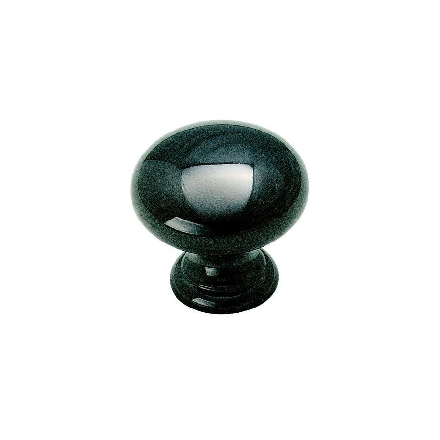 Amerock Allison Black Nickel Round Cabinet Knob