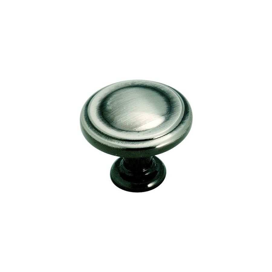 Amerock Hint Of Heritage Pewter Round Cabinet Knob