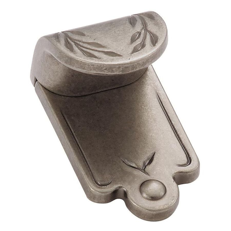 Amerock 3/4-in Center-to-Center Weathered Nickel Inspirations Drop Cabinet Pull