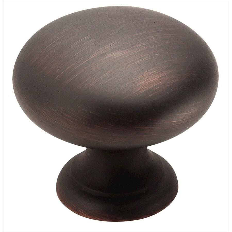 Shop Amerock Allison Oil Rubbed Bronze Round Cabinet Knob