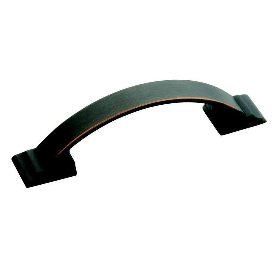 Amerock 3-in Center-to-Center Oil-Rubbed Bronze Candler Arched Cabinet Pull