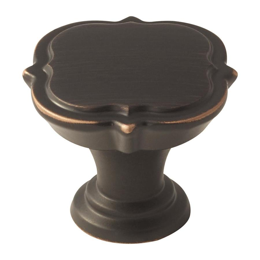 Amerock 25-Pack Grace Revitalize Oil-Rubbed Bronze Round Cabinet Knobs