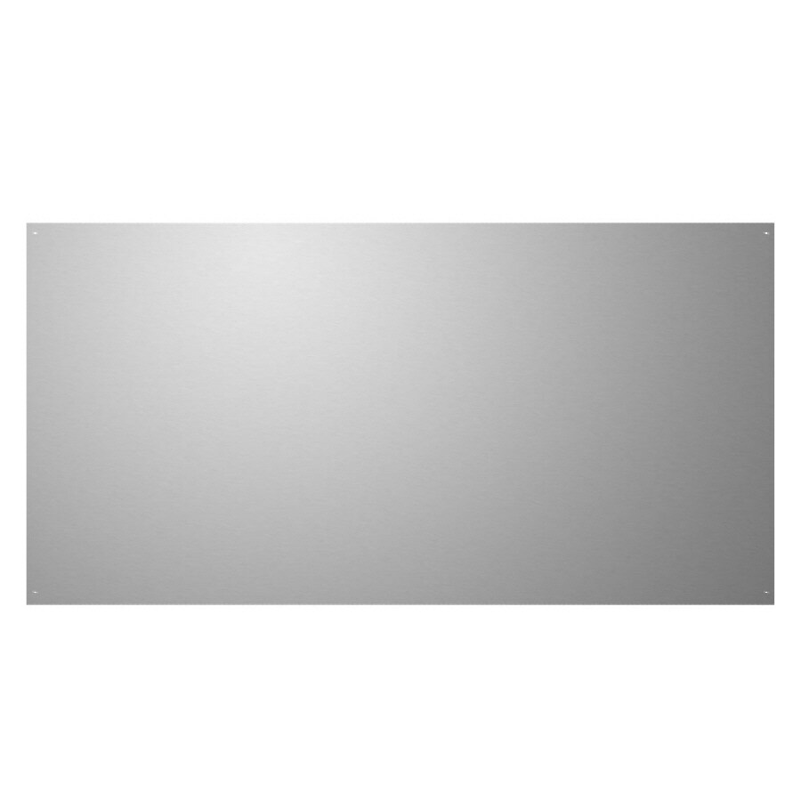 Broan 24-in x 36-in Stainless Steel Metal Kitchen Backsplash