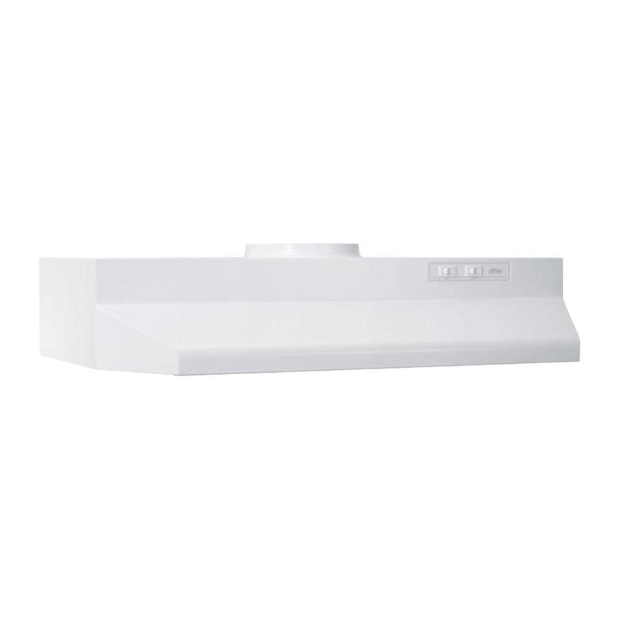 Broan Undercabinet Range Hood (White Monochromatic) (Common: 30-in; Actual: 29.87-in)