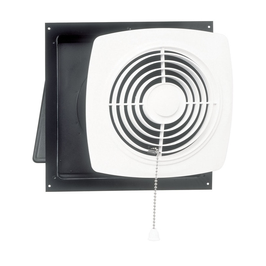 Shop broan 7 sone 250 cfm white bathroom fan at for Part f bathroom fan