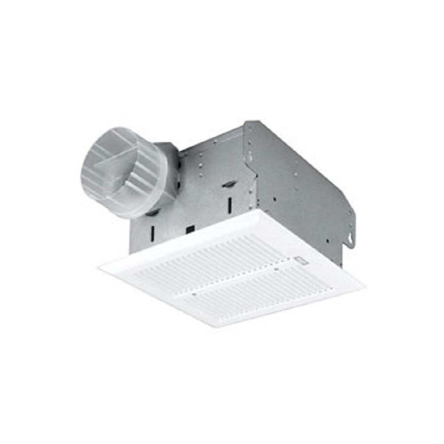 Broan 1.5-Sone 50-CFM White Bathroom Fan