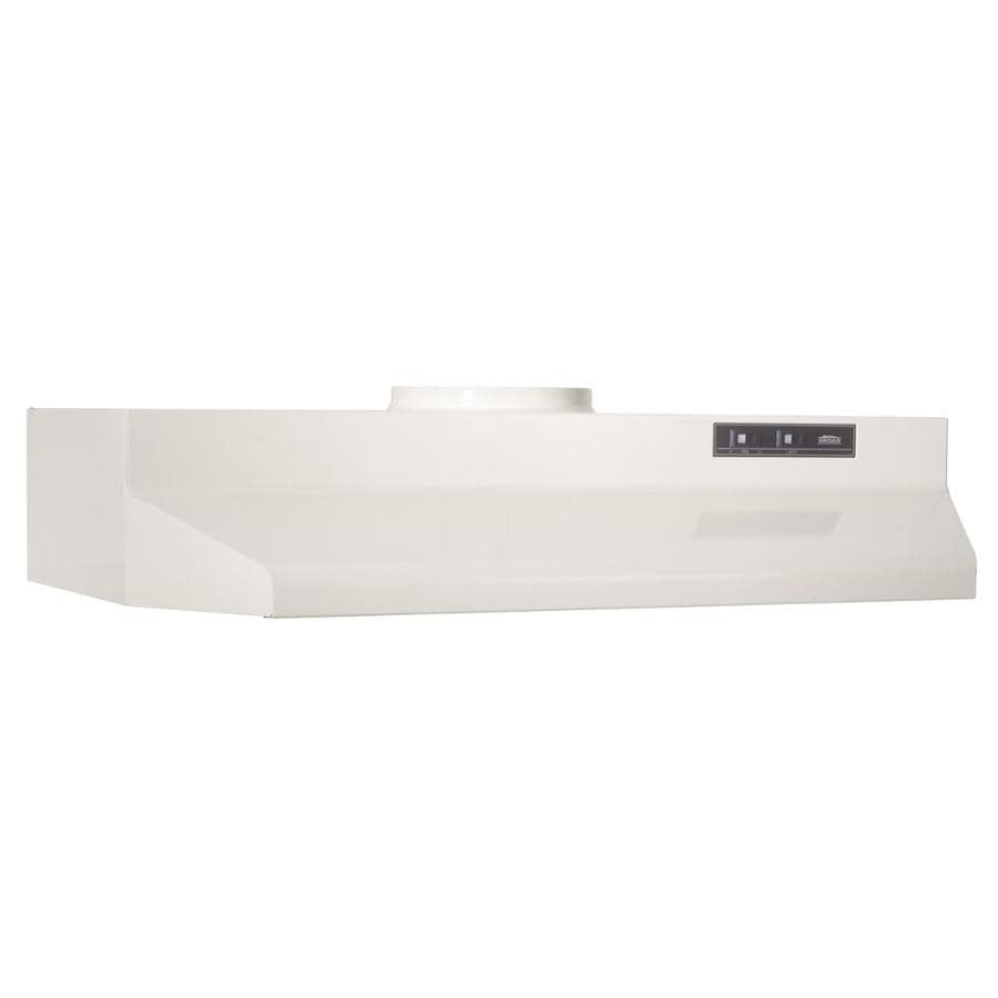 Broan Undercabinet Range Hood (Bisque/Black) (Common: 42-in; Actual: 41.87-in)