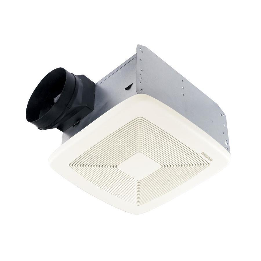 Shop Broan 0 8 Sone 80 Cfm White Bathroom Fan Gu24 Energy