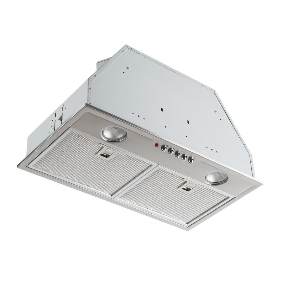 Broan Undercabinet Range Hood (430 Stainless Steel with #4 Brushed) (Common: 20-in; Actual: 20.5-in)