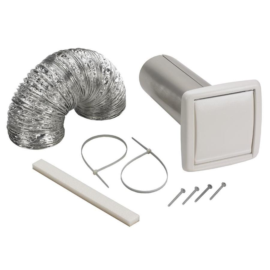 Shop Broan Polypropylene Wall Vent Kit At