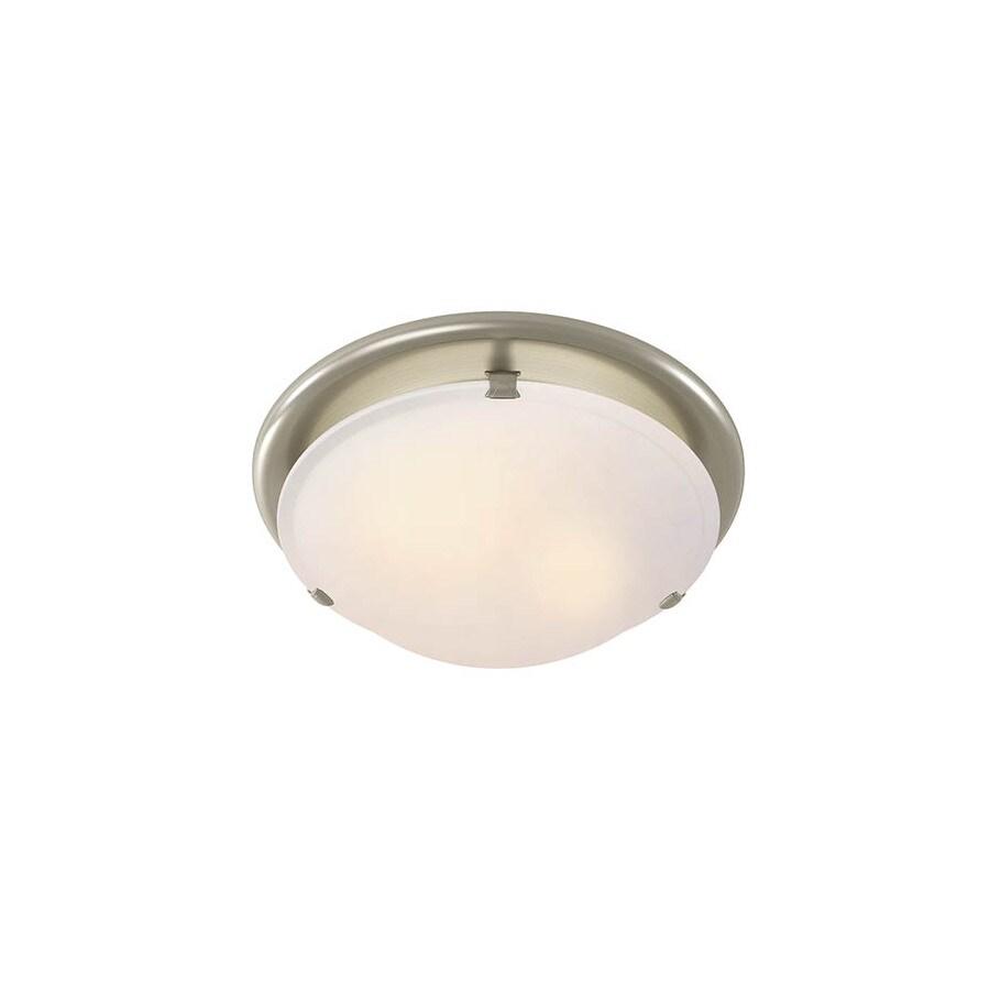 Broan 2.5-Sone 80-CFM Brushed Nickel Bathroom Fan with Light